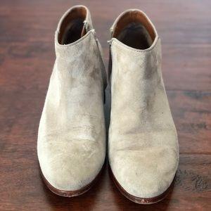 Sam Edelman Grey Ankle Boots